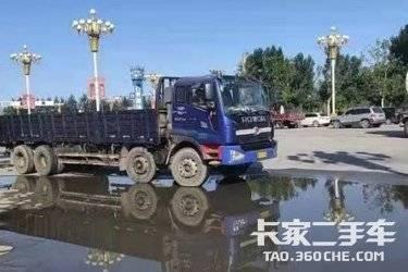 二手载货车 福田瑞沃 240马力图片