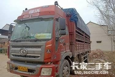 二手载货车 福田瑞沃 180马力图片