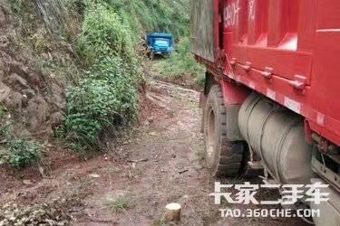 二手自卸车 陕汽商用车 210马力图片