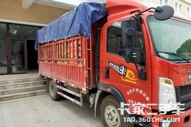 二手重汽HOWO轻卡 悍将 载货车 170马力