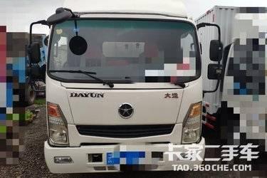 二手载货车 大运轻卡 120马力图片