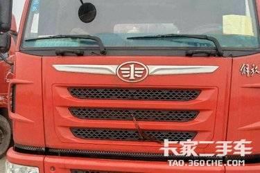 二手卡车牵引车  青岛解放 430马力   司机一手车