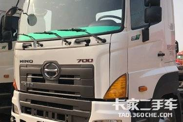 二手牵引车 广汽日野 420马力图片