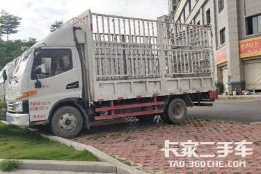 二手载货车 江淮骏铃 109马力图片