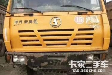 二手自卸车 陕汽重卡 340马力图片