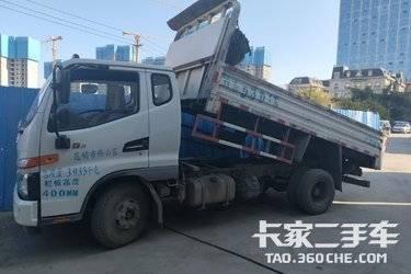 二手江淮工程车 骏铃G 120马力图片