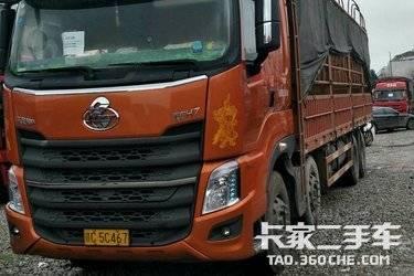 二手载货车 东风柳汽 385马力图片