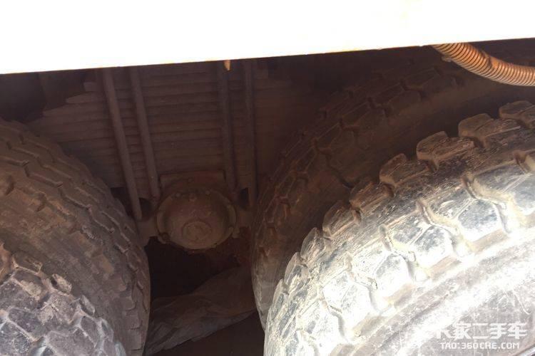 陕汽重卡 375马力 自卸车