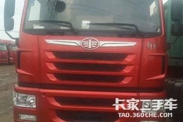 二手卡车牵引车  青岛解放 375马力