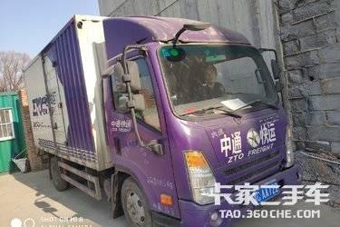二手载货车 大运轻卡 87马力图片