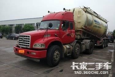 二手卡车牵引车散装罐车  东风柳汽 310马力