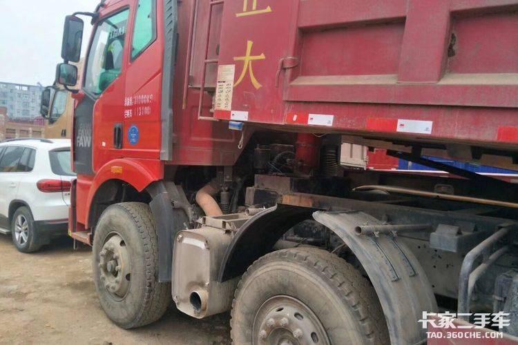 一汽解放 320马力 自卸车