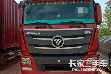 二手载货车 福田欧曼 350马力图片