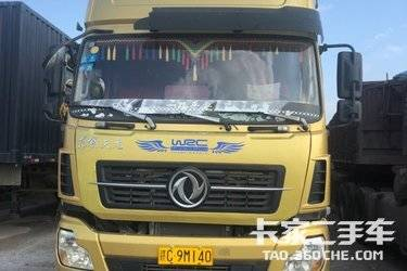二手卡车牵引车  东风商用车 450马力带13米大开门挂