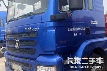 二手卡车二手牵引车  陕汽德新M3000双驱轻体重卡 375马力