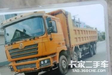 二手卡车自卸车  陕汽重卡 340马力