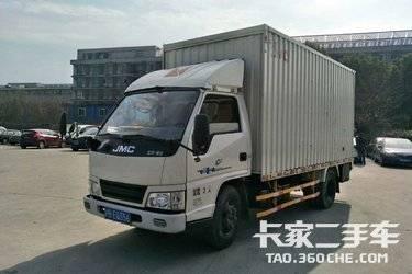 二手载货车 江铃汽车 110马力图片