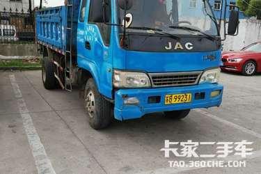 二手自卸车 江淮工程车 160马力图片