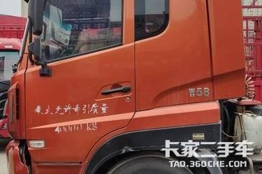 二手中国重汽成都商用车(原重汽王牌) 王牌W5B 340马力图片