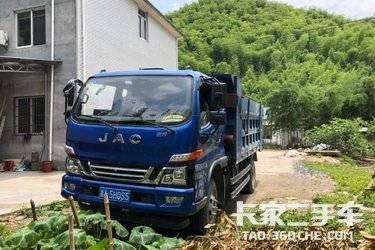 二手自卸车 江淮工程车 129马力图片