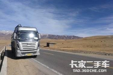 二手载货车 四川现代 440马力图片