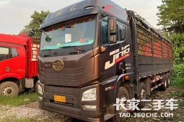 二手载货车 青岛解放 375马力图片