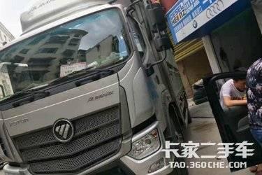 二手载货车 福田欧马可 185马力图片