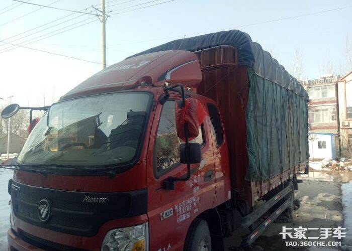 福田欧马可 156马力 载货车