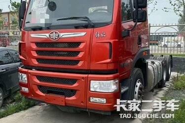 二手卡车牵引车 青岛解放 400马力