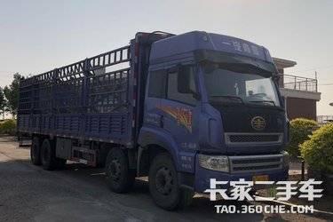二手载货车 青岛解放 265马力图片