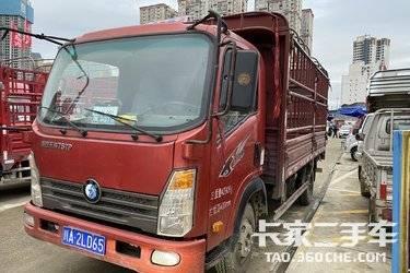 二手载货车 重汽王牌 120马力图片