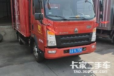 二手载货车 重汽HOWO轻卡 110马力图片