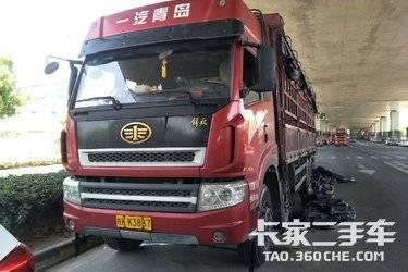 二手载货车 青岛解放 310马力图片