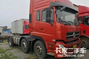 二手卡车牵引车  东风商用车 375马力