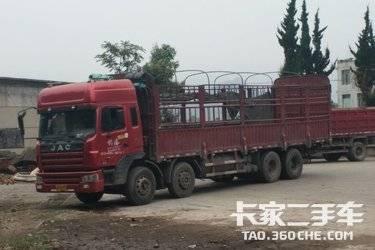 二手载货车 江淮格尔发 290马力图片