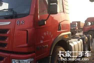 二手卡车国五17年牵引车  青岛解放 375马力