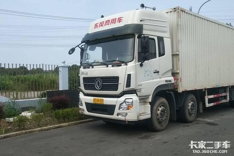 二手载货车 东风商用车 270马力图片