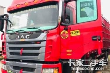 二手卡车载货车  江淮格尔发 220马力