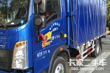 載貨車  重汽HOWO輕卡 148馬力
