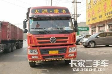 二手载货车 大运重卡 310马力图片
