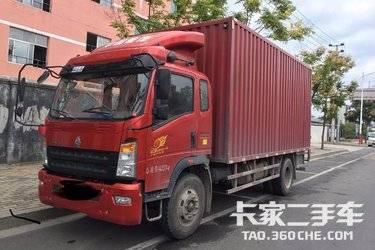 二手载货车 重汽豪沃(HOWO) 180马力图片