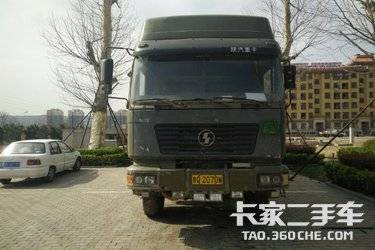 二手卡车自卸车  陕汽重卡 336马力