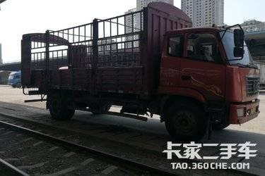 二手载货车 陕汽重卡 170马力图片