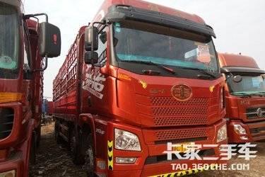 二手载货车 青岛解放 350马力图片