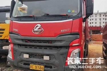 二手卡车自卸车  东风柳汽 350马力
