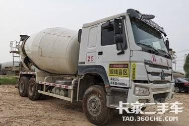 二手搅拌车 中集凌宇(凌宇牌) 380马力图片