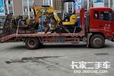 平板运输车  东风股份 180马力
