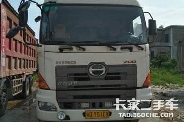 二手牵引车 广汽日野 380马力图片
