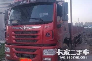 二手卡车载货车  青岛解放 240马力