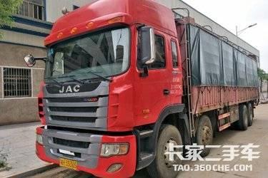 二手载货车 江淮格尔发 340马力图片